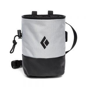 Mojo Zip Chalk Bag - Pewter